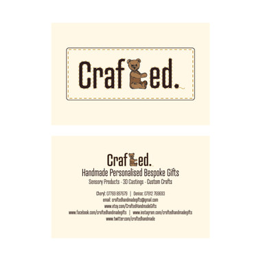 Crafted. - Business Card