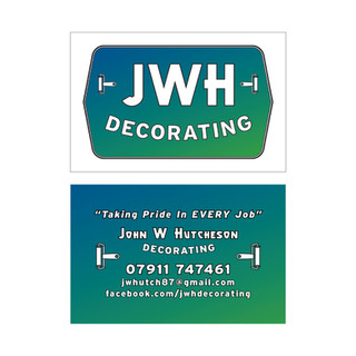 JWH DECORATING - Business Cards