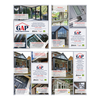 GAP Home Improvements - Full Page Newspaper Spreads