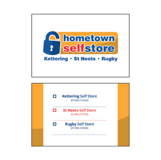 hometown self store - Business Cards