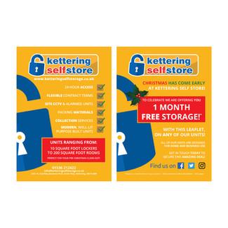 Kettering Self Store - Leaflet