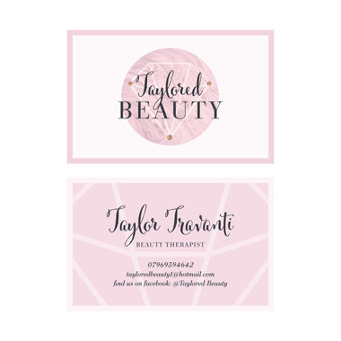 Taylored BEAUTY - Business Cards