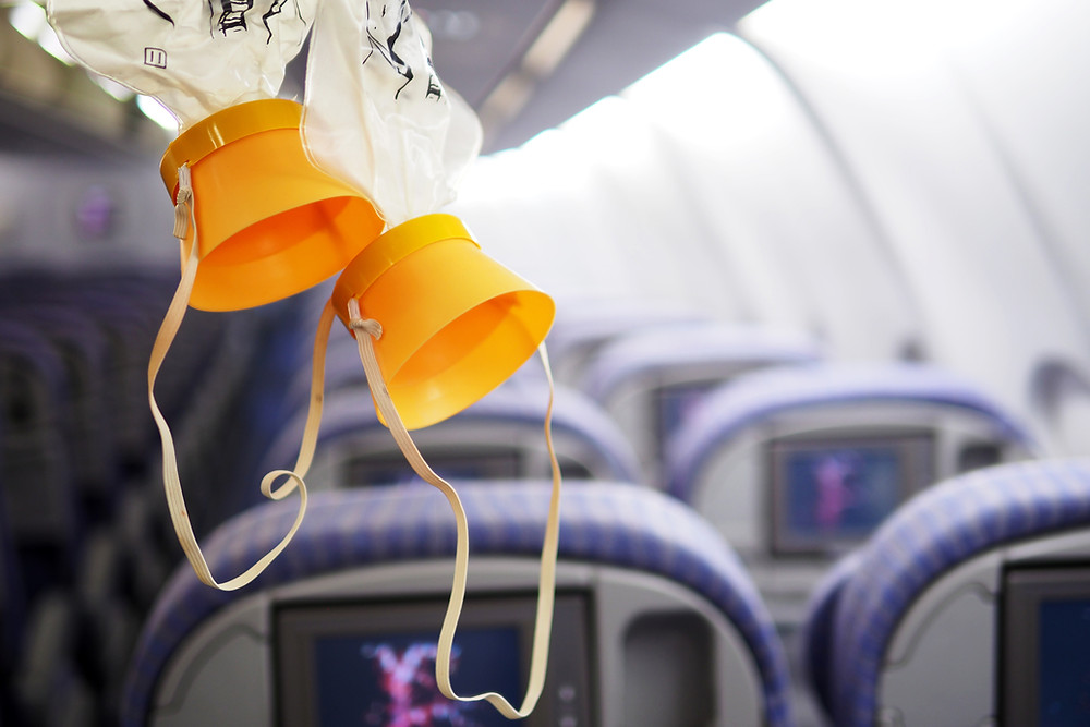 Aeroplane Oxygen mask