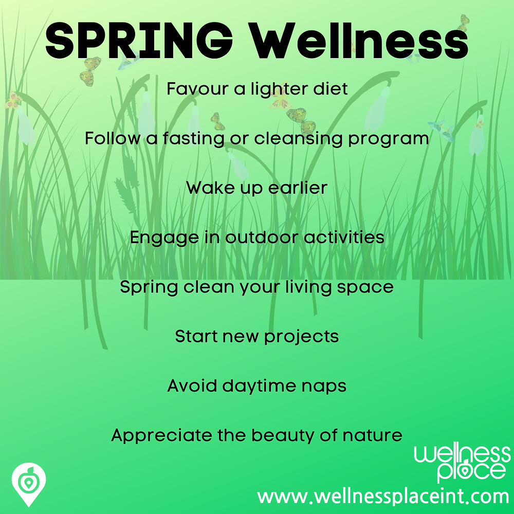 Wellness through the seasons: Spring Credit: Nicole Cullinan