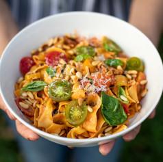 Vegetarian Fettuccine  165,000 VND