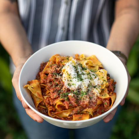 Beef Pappardelle  210,000 VND