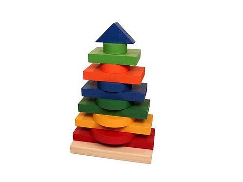 Brinquedo Educativo Torre Multiformas