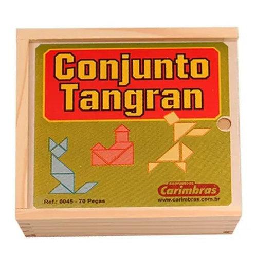 Conjunto de Tangram 70 peças