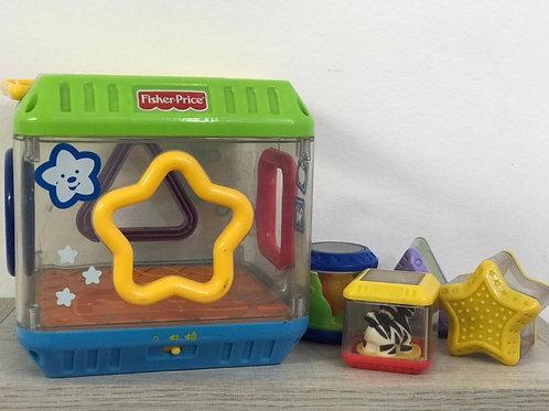 Brinquedo encaixe educativo PEEK-A-BLOCKS