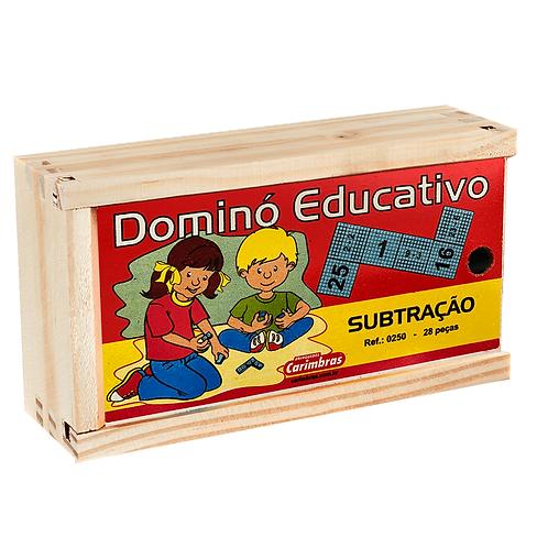 Dominó educativo - subtração