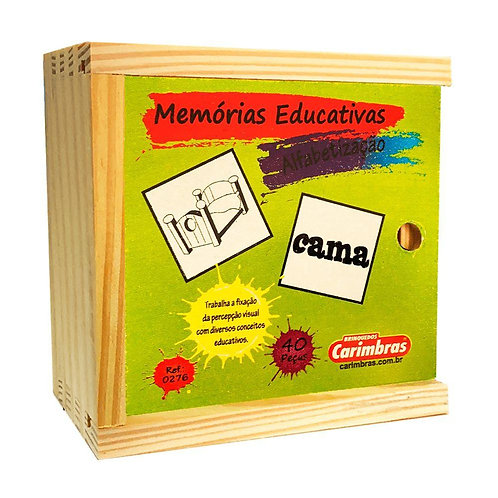 Memórias educativas - Alfabetização