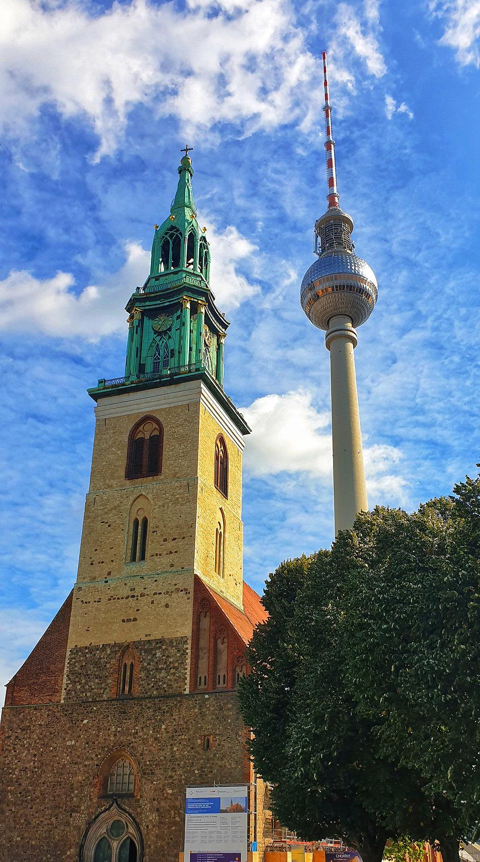 Зелёный маршрут в Берлине, Берлин гид, г