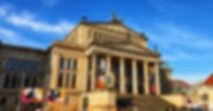Жандармен маркт, Синий маршрут в Берлине