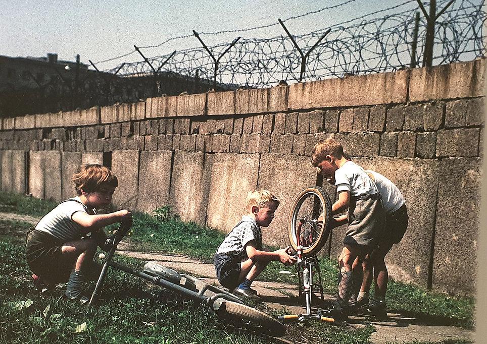 Берлинская стена, красный маршрут в Берл