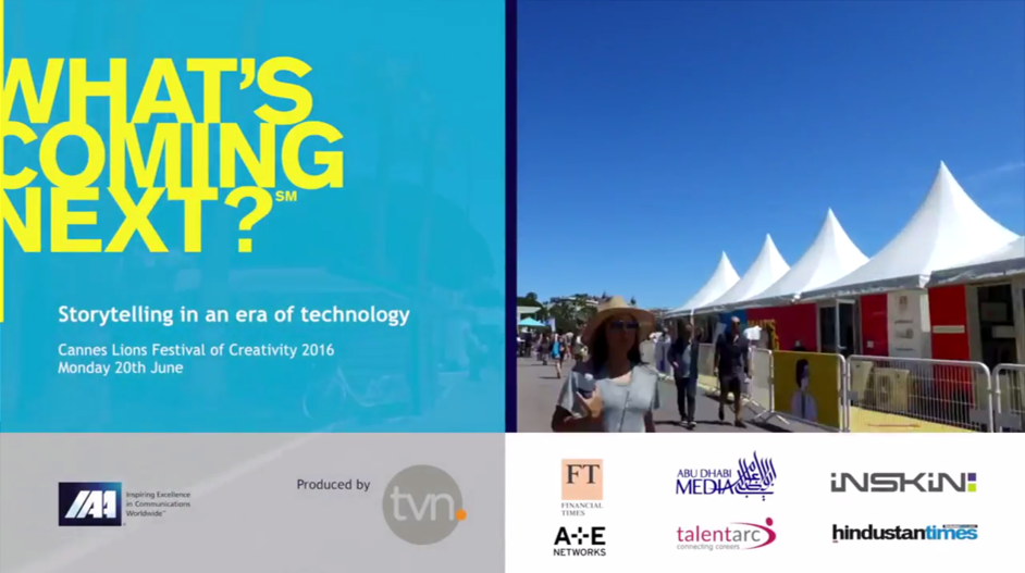 Cannes Video Storytelling