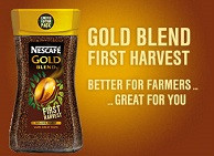 Nescafe Gold Blend PageSkin Plus with Evolving Messaging Demo
