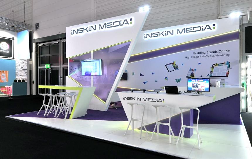 InSkin Media Dmexco stand