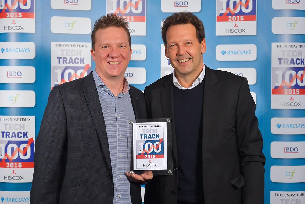 Steve & Hugo_TechTrack100