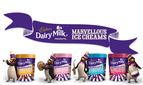 Cadbury's Marvellous Creations Ice Cream