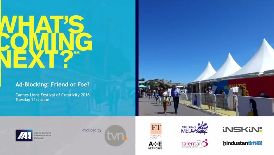 Cannes Video Adblock