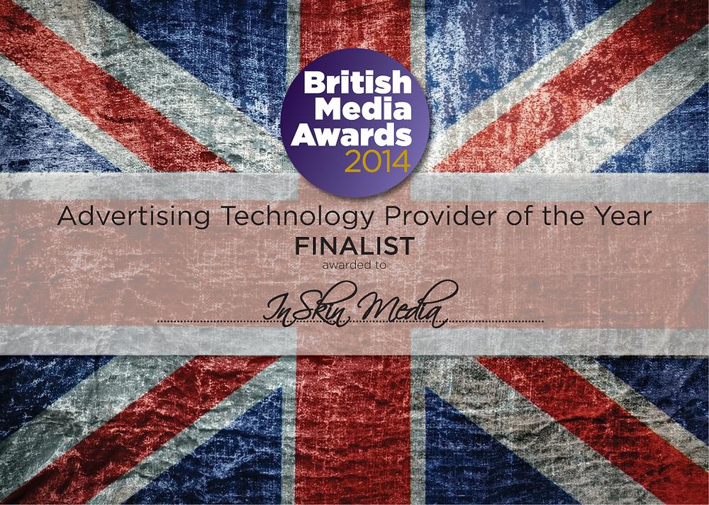 Finalist - Advertising Technology - InSkin