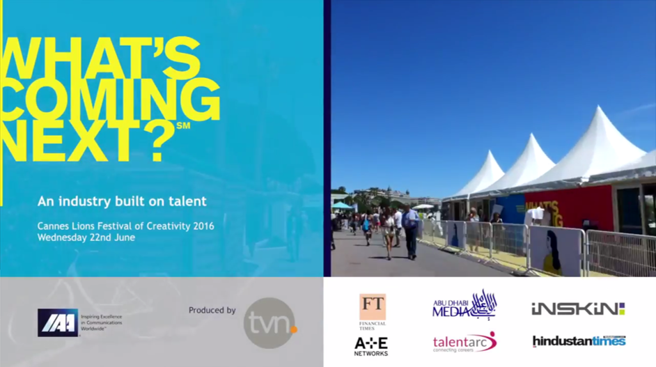 Cannes Video  Talent