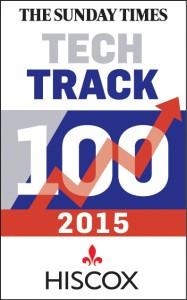 2015 Tech Track 100 logo