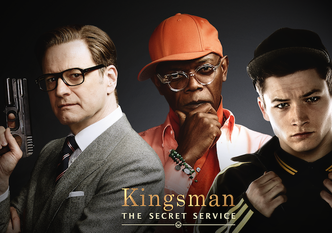 Kingsman Movie PageSkin Plus with Series Messaging from InSkin Media