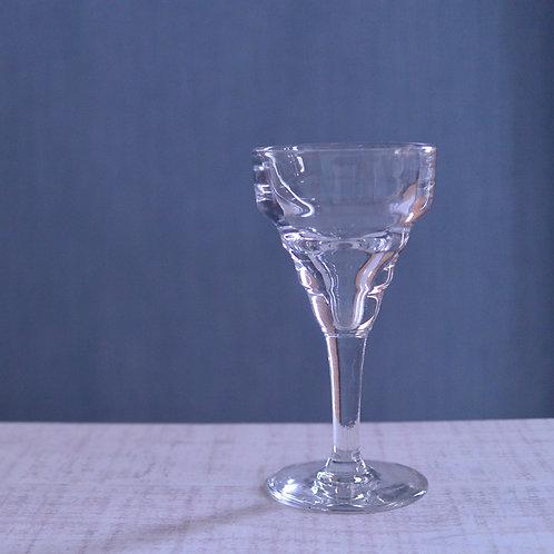 *フランスアンティーク*ゆらゆらしたガラスが素敵なワイングラス