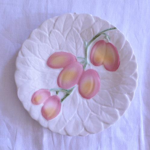 *フランスアンティーク*バルボティーヌのデザート皿 プルーン