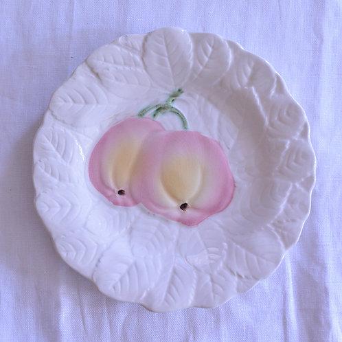 *フランスアンティーク*バルボティーヌのデザート皿 りんご