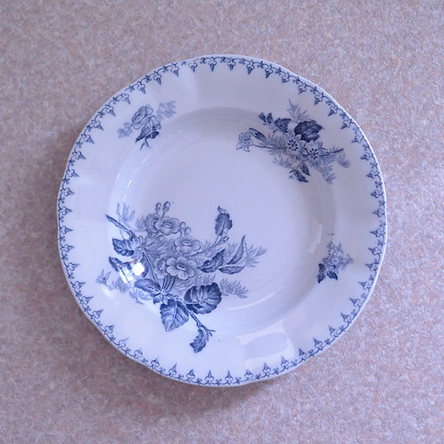 *フランスブロカント*サルグミンヌ「FLORE」深皿