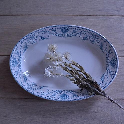 *ベルギーアンティーク*B.F.K.「LOUIS XVI」オーバル大皿