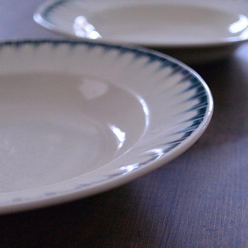 *フランスアンティーク*バドンヴィレ「CARTHAGE」深皿