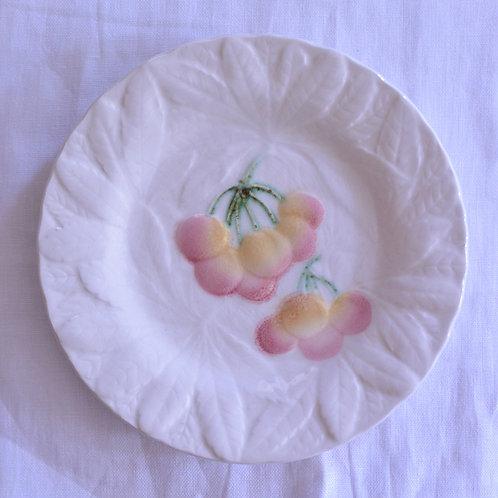 *フランスアンティーク*バルボティーヌのデザート皿 さくらんぼ
