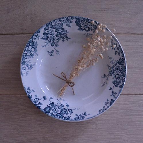 *フランスアンティーク*サンタマン「MARIE-LOUISE」深皿