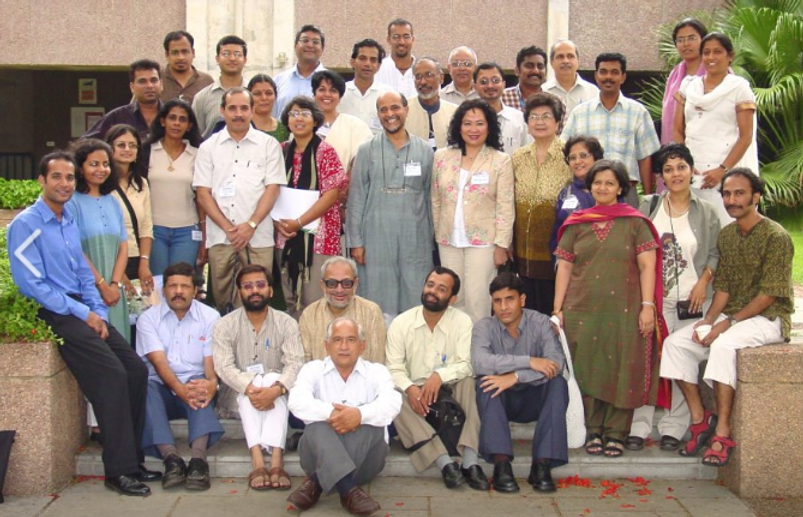 Darryl with Indian and Asian journalists