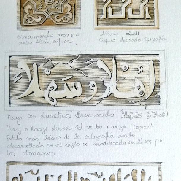 Epigrafias de la alhambra