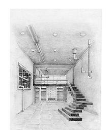 Diana Londoño, dibujo arquitectonico, artista colombiana, arte y arquitectura, arte contemporáneo, absenta, avsentha, arte en bogotá, dibujantes, dibujos de edificios, Diana paola londoño Arias. el resplandor