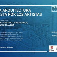 Charla Arte y arquitectura
