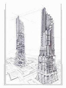 ciudad vertical.jpgDiana Londoño, dibujo arquitectonico, artista colombiana, arte y arquitectura, arte contemporáneo, absenta, avsentha, arte en bogotá, dibujantes, dibujos de edificios, Diana paola londoño Arias.