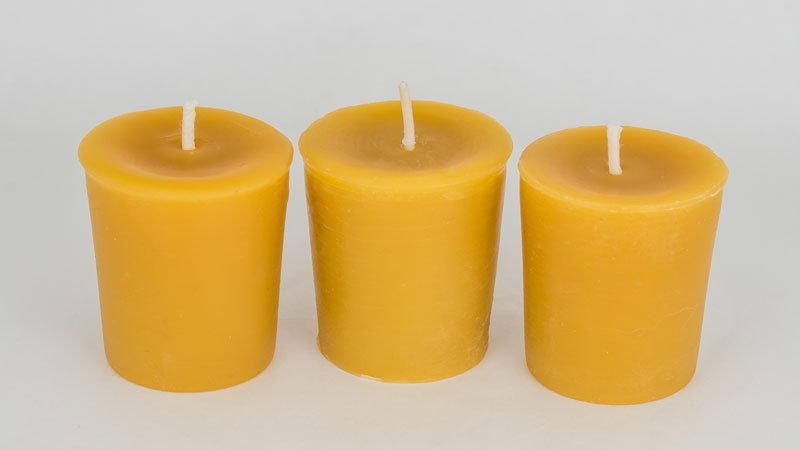 Beeswax Votive Candle Each