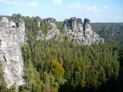 View from Bastei
