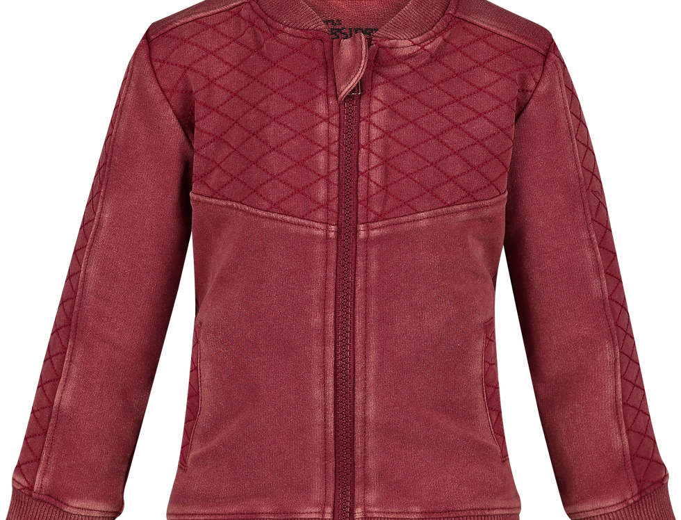 Sweat jacket Colbey Red