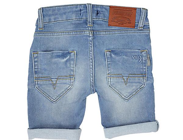 Blauwe jeans short
