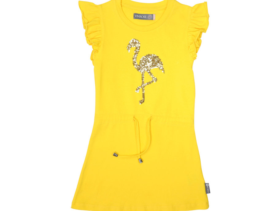 Jurkje Flamingo Yellow