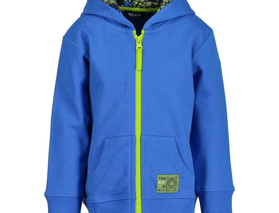Vest kobalt blauw