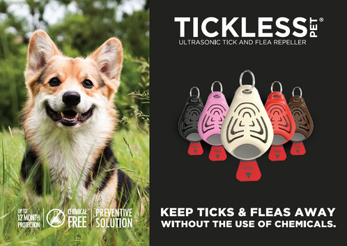 The 2002 Study Concluded Device Eliminated Fleas And Was Well Tolerated In Case Of Ticks A Reduction Realised Tickless Flea Tick Repeller