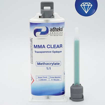 Colle Methacrylate MMA Clear