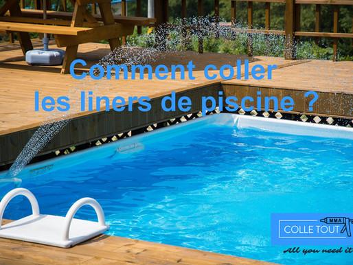 Comment coller les liners de piscine?